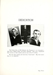 Page 7, 1944 Edition, Butler High School - Tropaeum Yearbook (Butler, IN) online yearbook collection