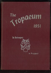 Butler High School - Tropaeum Yearbook (Butler, IN) online yearbook collection, 1951 Edition, Page 1