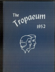 Butler High School - Tropaeum Yearbook (Butler, IN) online yearbook collection, 1952 Edition, Page 1