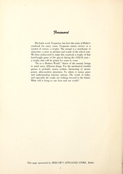 Page 6, 1953 Edition, Butler High School - Tropaeum Yearbook (Butler, IN) online yearbook collection