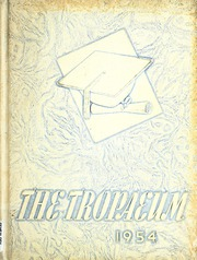 Butler High School - Tropaeum Yearbook (Butler, IN) online yearbook collection, 1954 Edition, Page 1
