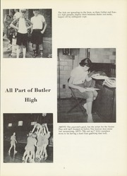 Page 9, 1957 Edition, Butler High School - Tropaeum Yearbook (Butler, IN) online yearbook collection