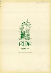 Page 5, 1927 Edition, La Porte High School - El Pe Yearbook (La Porte, IN) online yearbook collection