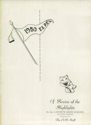 Page 5, 1950 Edition, La Porte High School - El Pe Yearbook (La Porte, IN) online yearbook collection