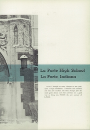 Page 7, 1957 Edition, La Porte High School - El Pe Yearbook (La Porte, IN) online yearbook collection