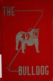 Page 1, 1949 Edition, Lapel High School - Bulldog Yearbook (Lapel, IN) online yearbook collection