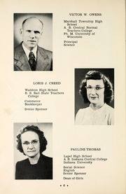Page 10, 1949 Edition, Lapel High School - Bulldog Yearbook (Lapel, IN) online yearbook collection