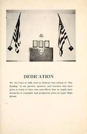 Page 7, 1949 Edition, Lapel High School - Bulldog Yearbook (Lapel, IN) online yearbook collection
