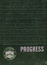 1969 Edition, Pittsboro High School - Progress Yearbook (Pittsboro, IN)