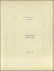 Page 9, 1942 Edition, Union High School - Gold U Yearbook (Dugger, IN) online yearbook collection