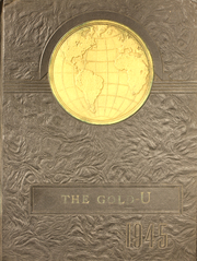 1945 Edition, Union High School - Gold U Yearbook (Dugger, IN)