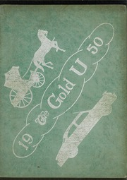 1950 Edition, Union High School - Gold U Yearbook (Dugger, IN)