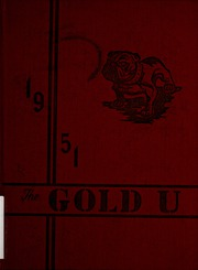 1951 Edition, Union High School - Gold U Yearbook (Dugger, IN)