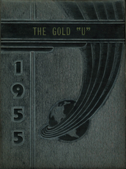 1955 Edition, Union High School - Gold U Yearbook (Dugger, IN)