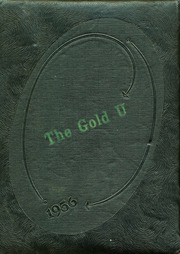 1956 Edition, Union High School - Gold U Yearbook (Dugger, IN)