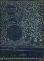 1957 Edition, Union High School - Gold U Yearbook (Dugger, IN)