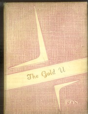 1958 Edition, Union High School - Gold U Yearbook (Dugger, IN)