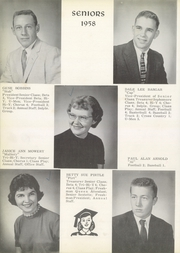 Page 14, 1958 Edition, Union High School - Gold U Yearbook (Dugger, IN) online yearbook collection