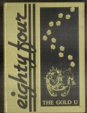 1984 Edition, Union High School - Gold U Yearbook (Dugger, IN)