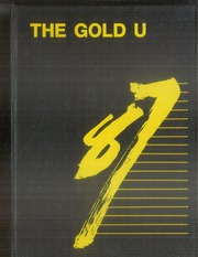 1987 Edition, Union High School - Gold U Yearbook (Dugger, IN)