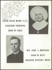 Page 17, 1957 Edition, Bishop Noll High School - Marquette Yearbook (Hammond, IN) online yearbook collection
