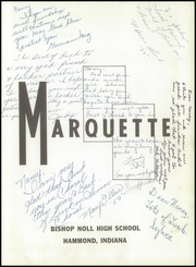 Page 5, 1957 Edition, Bishop Noll High School - Marquette Yearbook (Hammond, IN) online yearbook collection