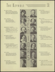 Page 16, 1937 Edition, Ben Davis High School - Keyhole Yearbook (Indianapolis, IN) online yearbook collection
