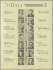 Page 17, 1937 Edition, Ben Davis High School - Keyhole Yearbook (Indianapolis, IN) online yearbook collection