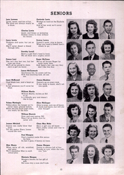 Page 17, 1945 Edition, Ben Davis High School - Keyhole Yearbook (Indianapolis, IN) online yearbook collection