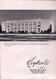 Page 5, 1945 Edition, Ben Davis High School - Keyhole Yearbook (Indianapolis, IN) online yearbook collection