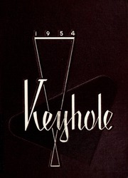 Ben Davis High School - Keyhole Yearbook (Indianapolis, IN) online yearbook collection, 1954 Edition, Page 1
