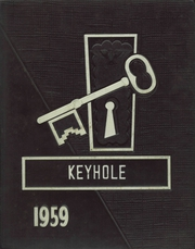 Ben Davis High School - Keyhole Yearbook (Indianapolis, IN) online yearbook collection, 1959 Edition, Page 1