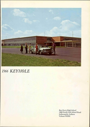 Page 7, 1966 Edition, Ben Davis High School - Keyhole Yearbook (Indianapolis, IN) online yearbook collection