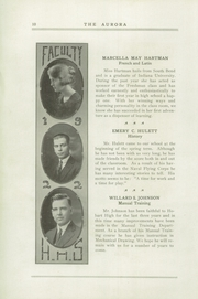 Page 14, 1922 Edition, Hobart Senior High School - Memories Yearbook (Hobart, IN) online yearbook collection