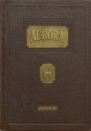 1926 Edition, Hobart Senior High School - Memories Yearbook (Hobart, IN)