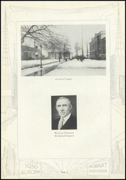 Page 12, 1930 Edition, Hobart Senior High School - Memories Yearbook (Hobart, IN) online yearbook collection