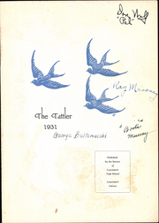 Page 5, 1931 Edition, Logansport High School - Tattler Yearbook (Logansport, IN) online yearbook collection