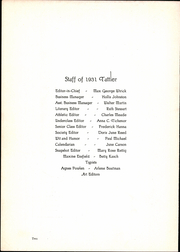 Page 6, 1931 Edition, Logansport High School - Tattler Yearbook (Logansport, IN) online yearbook collection
