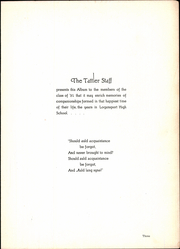 Page 7, 1931 Edition, Logansport High School - Tattler Yearbook (Logansport, IN) online yearbook collection