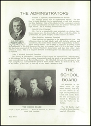 Page 9, 1935 Edition, Logansport High School - Tattler Yearbook (Logansport, IN) online yearbook collection