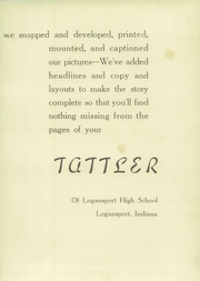 Page 9, 1942 Edition, Logansport High School - Tattler Yearbook (Logansport, IN) online yearbook collection