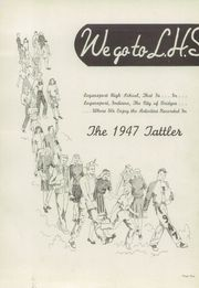 Page 5, 1947 Edition, Logansport High School - Tattler Yearbook (Logansport, IN) online yearbook collection
