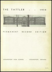 Page 5, 1950 Edition, Logansport High School - Tattler Yearbook (Logansport, IN) online yearbook collection