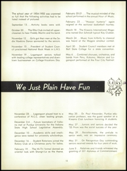 Page 16, 1955 Edition, Logansport High School - Tattler Yearbook (Logansport, IN) online yearbook collection