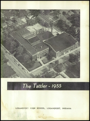 Page 7, 1955 Edition, Logansport High School - Tattler Yearbook (Logansport, IN) online yearbook collection