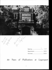 Page 6, 1957 Edition, Logansport High School - Tattler Yearbook (Logansport, IN) online yearbook collection
