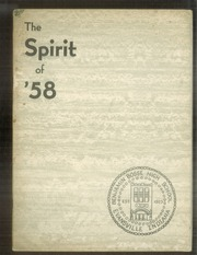 Page 1, 1958 Edition, Benjamin Bosse High School - Spirit Yearbook (Evansville, IN) online yearbook collection