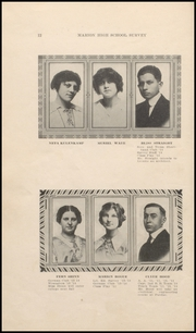 Page 16, 1914 Edition, Marion High School - Cactus Yearbook (Marion, IN) online yearbook collection