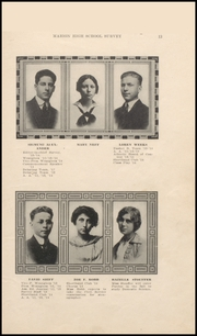 Page 17, 1914 Edition, Marion High School - Cactus Yearbook (Marion, IN) online yearbook collection