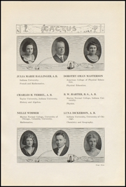 Page 13, 1922 Edition, Marion High School - Cactus Yearbook (Marion, IN) online yearbook collection